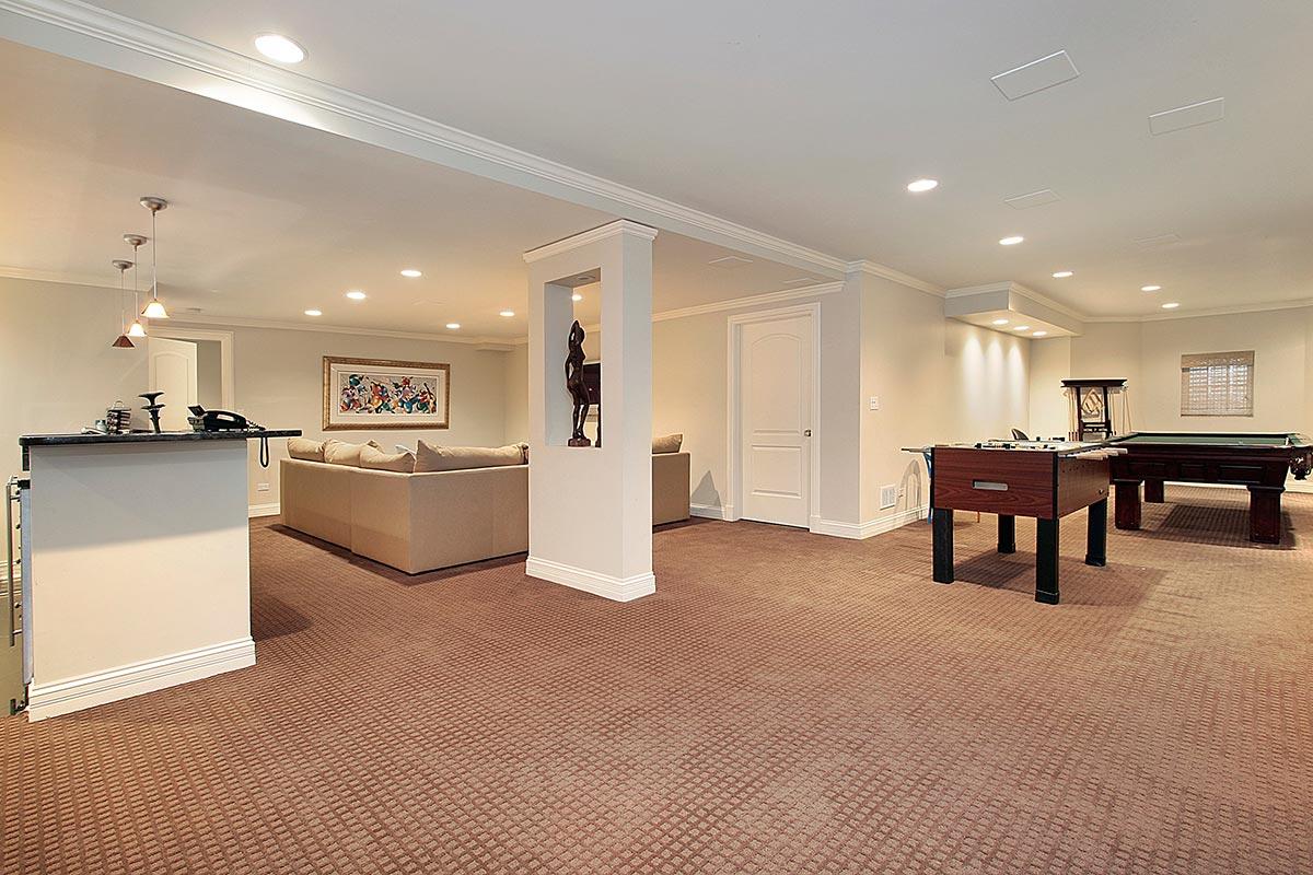 basement interiors